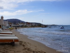 Stalida. Beach