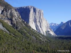 Yosemite National Park. Granite monolith El Capitan