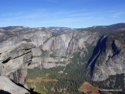 Yosemite National Park. Yosemite Valley from Glacier Point