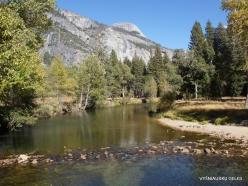 Yosemite National Park. Yosemite Valley. Merced river