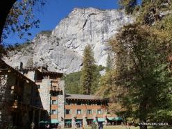 Yosemite National Park. Yosemite Valley. The Ahwahnee Hotel