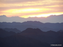 1 From Mount Sinai (Gebel Musa or Mount Moses). Sunrise