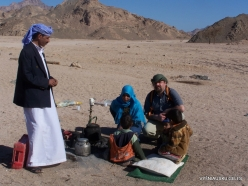 4 Sinai desert. With bedouins
