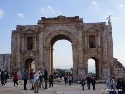 Jerash. Greco-Romanian city of Gearsa. Arch of Hadrian (3)