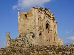 Jerash. Greco-Romanian city of Gearsa. Arch of Hadrian