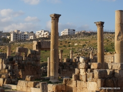 Jerash. Greco-Romanian city of Gearsa. Cosmas and Damian Church