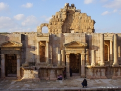 Jerash. Greco-Romanian city of Gearsa. North Theatre (3)