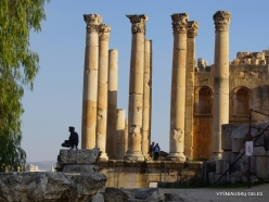 Jerash. Greco-Romanian city of Gearsa