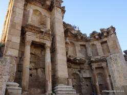 Jerash. Greco-Romanian city of Gearsa. Nymphaeum