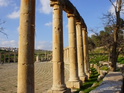 Jerash. Greco-Romanian city of Gearsa. Oval Forum (3)