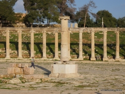 Jerash. Greco-Romanian city of Gearsa. Oval Forum (4)