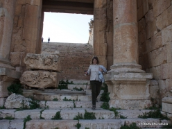 Jerash. Greco-Romanian city of Gearsa. Propylaea of Temple of Artemis
