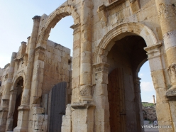 Jerash. Greco-Romanian city of Gearsa. South Gate (2)