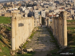 Jerash. Greco-Romanian city of Gearsa. South bridge (2)