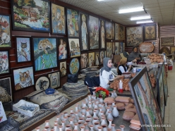 Madaba. Mosaic Workshop
