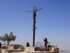Mount Nebo. Brazen Serpent Monument