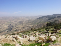 Mount Nebo. Wiew from Mount Nebo