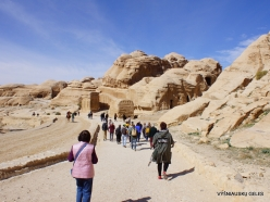 Petra. Road to the ancient city (3)