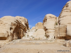 Petra. Road to the ancient city (4)