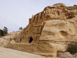 Petra. Road to the ancient city. Obelisk tomb (2)