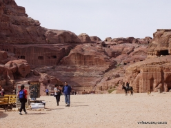 Petra. The Theater