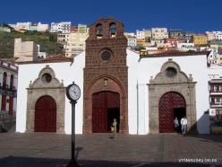 La Gomera. San Sebastián de La Gomera. Church Iglesia de La Asunción