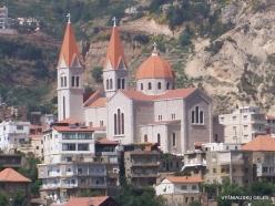 Wadi Kadisha (Kadisha Valley). Bsharri church