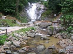 Perak. Near Tapah. Lata Iskandar waterfall (3)