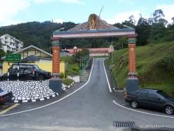 Pahang. Tanah Rata. Sri Subramaniya Alayam (Hindu Temple) (2)