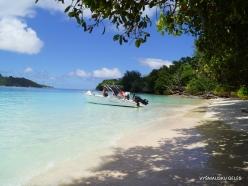 Seychelles. Curieuse. Beaches