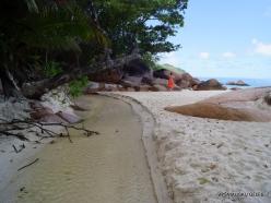 Seychelles. Praslin. Anse Lazio River (2)