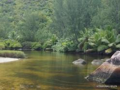 Seychelles. Praslin. Anse Lazio River