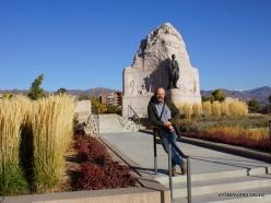 Salt Lake City. Mormon Battalion Monument (2)