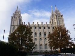 Salt Lake City. Salt Lake Temple (1893)