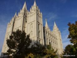 Salt Lake City. Salt Lake Temple (1894)