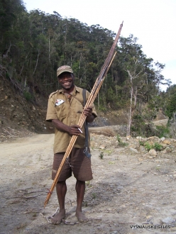 West Papua. Arfak Mountains. Hingk (3) Papuan hunter