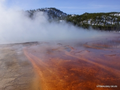 Yellowstone . Midway Geyser Basin. Grand Prismatic Spring (10)