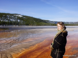 Yellowstone . Midway Geyser Basin. Grand Prismatic Spring (16)