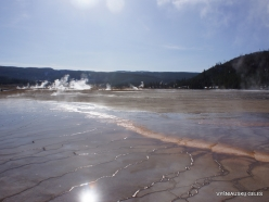 Yellowstone . Midway Geyser Basin. Grand Prismatic Spring (2)