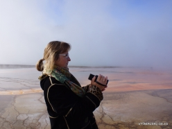 Yellowstone . Midway Geyser Basin. Grand Prismatic Spring (4)