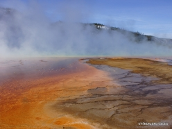 Yellowstone . Midway Geyser Basin. Grand Prismatic Spring (8)