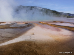 Yellowstone . Midway Geyser Basin. Grand Prismatic Spring (9)