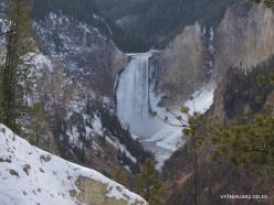 Yellowstone. The Grand Canyon of the Yellowstone. Yellowstone Falls (2)