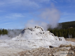 Yellowstone. Upper Geyser Basin. Castle Geyser (2)