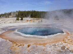 Yellowstone. Upper Geyser Basin. Crested Pool (4)