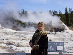 Yellowstone. Upper Geyser Basin. Giant Geyser
