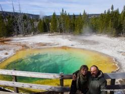Yellowstone. Upper Geyser Basin. Morning Glory Pool (1)