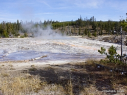 Yellowstone. Upper Geyser Basin. Oblong Geyser (2)